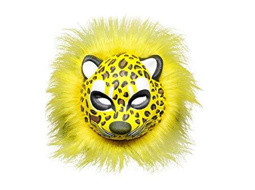 Mas Querade Hallowen Plüsch Tiger Maske Cosplay Maskerade Tier Gesichtsmaske Novely Party Dress Up Costuem Zubehör Foto Requisiten (Leopard),A,A