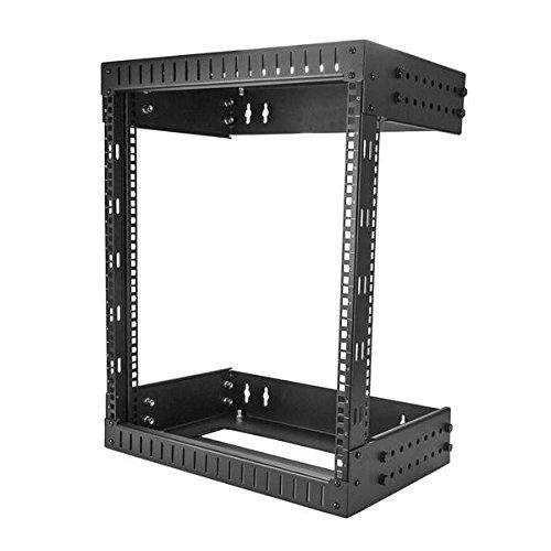STARTECH.COM 12 HE wandmontage Server Rack 30,5-51cm tief Open Frame Netzwerk Rack 2 Post Rack (2-post-racks)