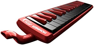 HOHNER 32F - Melódica, color rojo