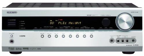 Onkyo TX-SR508 7.1 AV-Receiver (HDMI 1.4 mit 3D Video, ARC, HD-Audio, Dolby PL IIz, Universal Port, Gaming Modi) Silber -