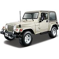 Bburago - Jeep Wrangler Sahara, color khaki (18-12014)