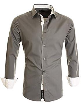 Früchtl Herren Hemd Slim Fit Bügelleicht - super modern super Qualität