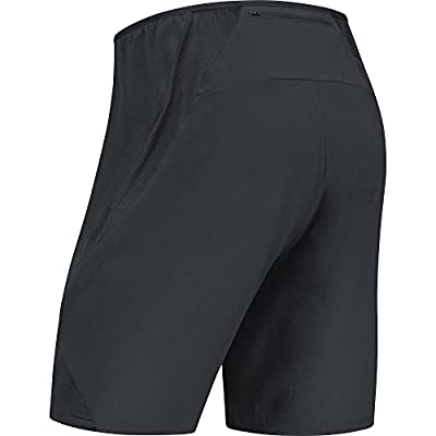 GORE Wear Men's Breathable 2in1 Running Shorts , R5 2in1 Short s, 100001