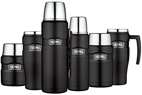 King Ml Thermos Noir Isotherme Inox Bouteille 125177 1200 YbfygI76v