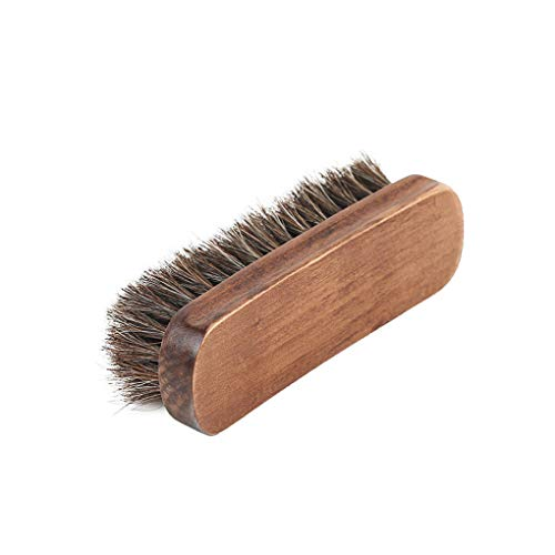 Hotaluyt Weiches Haar Bristles Schuhe Polnisch-Bürsten-Holzgriff Leahter Schuhe Boots Möbel Polieren Reinigungsbürste -