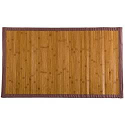 Estores Basic Natural Alfombra, Bambú, Haya, 140 x 200 cm