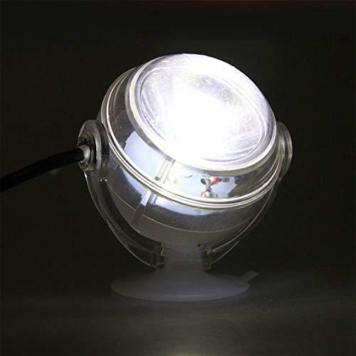 TOOGOO LED Unterwasserlampe Wasserdichte LED EU Stecker 110 V 220 V Aquarium Licht Fuer Korallenriff Aquarium Tauch Aquarium Licht Spot Lampe Weiss -