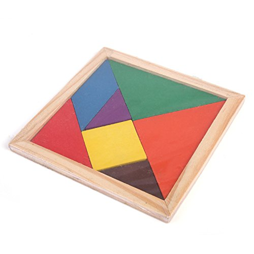 Futurekart Puzzle Square Brain Teaser Intelligent Blocks Educational Toy for Kids Set of 1(Multicolor)