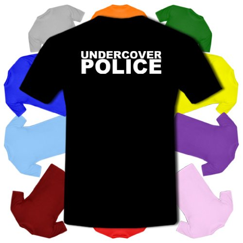 33e841ad5 Undercover Police Fancy Dress Copper Old Bill Kids Boy Girl Cotton ...