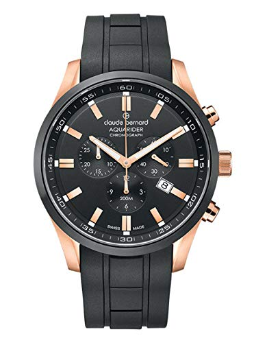 Claude Bernard by Edox Aquarider Men's Watch 10222.37RNCA.NIR Chronograph
