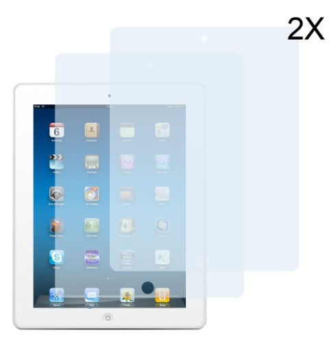 2 x Top&Easy Tech® Schutzfolie iPad 4 / iPad 3 / iPad 2 Matt Displayschutzfolie AntiReflex antireflektierend Anti-Fingerprint-Glare unsichtbar Invisible Screen Protector HD LCD- Film Display Schutz Folie 3-Lagig PREMIUMQUALITÄT Lcd-anti Glare Film