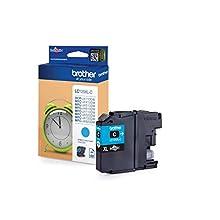 Brother LC-125XLC Inkjet Cartridge, Cyan, Single Pack, High Yield, Includes 1 x Inkjet Cartridge, Brother Genuine Supplies