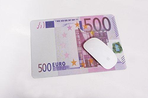 """Mousepad Universalunterlage """"500 EURO - Schein"""" 28 x 20 cm"""