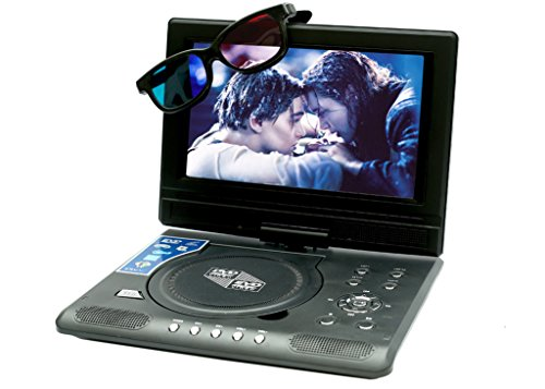 ABB 7.8inch 3D PORTABLE EVD/ DVD PLAYER with GAMING