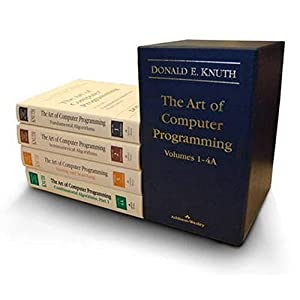 41IHBJFnG3L. SS300  - The Art of Computer Programming, Volumes 1-4 (Box Set)
