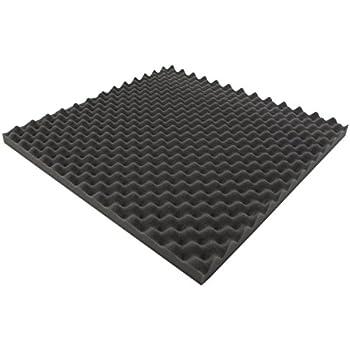 mousse acoustique mousse alv ol e isolation 100 cm x 50 cm x h blanc ou noir. Black Bedroom Furniture Sets. Home Design Ideas