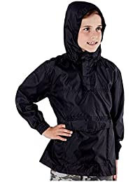 Pro Climate Kids Boys Girls Light Rain Jacket Coat Hooded Pac Away  Showerproof Mac Summer 62ffc444abda7