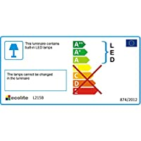 Flexo LED ECOLITE Lisa - ahorro de energía, sólo 4 W, blanco L215B - Bi