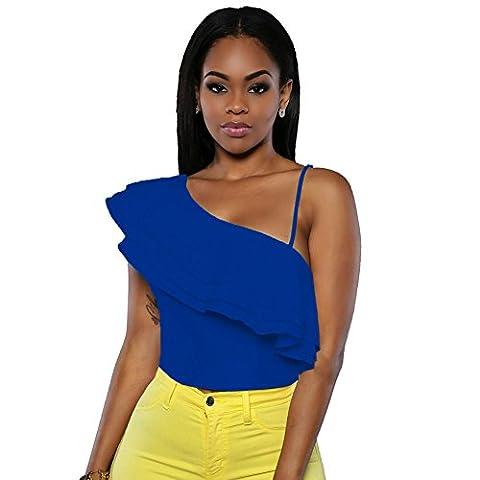 MEINICE - T-Shirt - Femme - Bleu - S