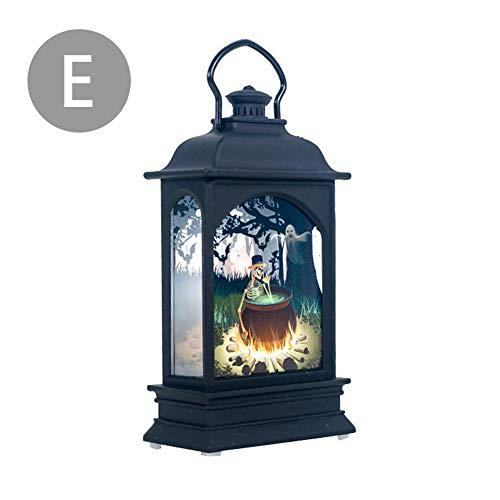 Decorazione luminosa decorativa decorativa di halloween del castello cimitero della zucca del led della lampada