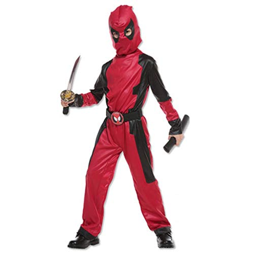 HYYSH Halloween Film Cartoon Anime Dress Up Cosplay Kostüm Außerordentlicher Held Gedruckt Avengers Hero Cosplay Kostüm (größe : Child L) (Cartoon Halloween-kid Filme)