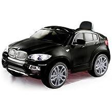 COCHE ELÉCTRICO BMW X6 SUV 12V 2.4G RC TOP CLASS (BLACK PAINTED)