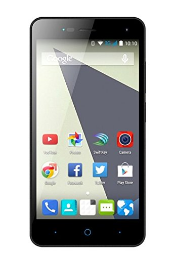 ZTE Blade L3 Smartphone (12,7 cm (5 Zoll) Display, 8 Megapixel Kamera, 8 GB Speicher) Schwarz