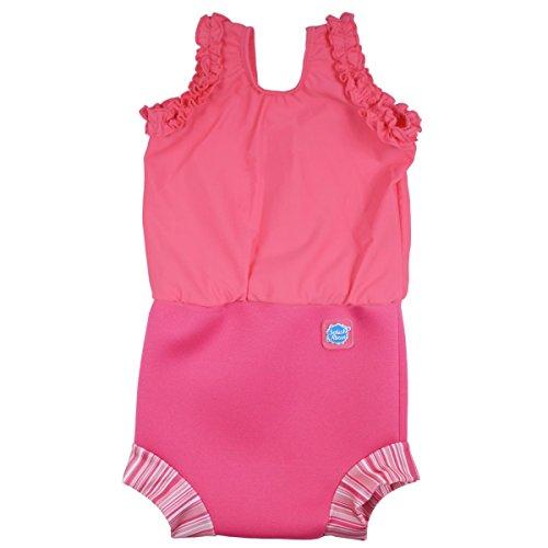 Baby Candy Kostüm - Splash About Baby Mädchen Neopren Nappy-anzug Pink Candy 3-8 Monate