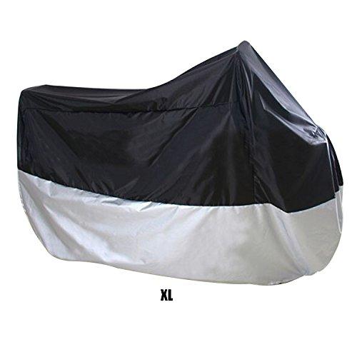 logei® Motorrad Ganzgarage Abdeckplane Abdeckung Garage Faltgarage Wetterschutz Schutzhülle Motorradplane Cover Roller Regenschutz (XL)