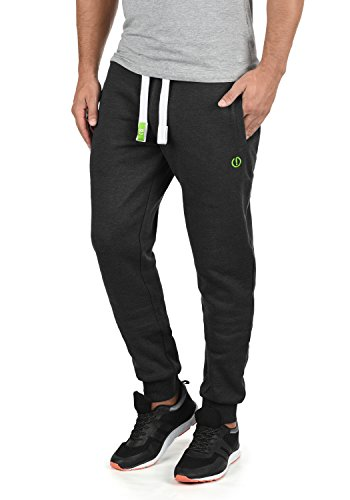 !Solid BennPant Herren Sweatpants Jogginghose Sporthose Mit Fleece-Innenseite Und Kordel Regular Fit, Größe:XXL, Farbe:Dark Grey Melange (8288)