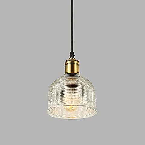 European Modern Simple Single Head Chandelier High Quality Glass Lampshade High Brightness E27 Light Source Creative Bedroom Lights Living Room Restaurant Bar Clothing Store Decoration Lights Chain: 100CM (Adjustable) 110-240 Volt's ( Color : White