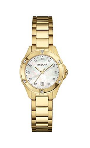 Bulova Diamonds 97W100 - Orologio da Polso Donna