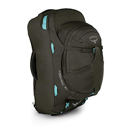 Osprey Fairview 70 Women's Travel Pack with 13L Detachable Daypack - Misty Grey (WS/WM)