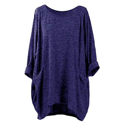 JUTOO T-Shirts à Manches Longues à Manches Longues et à Manches Longues  pour Femmes 6bfedba2e71