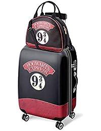Set maleta trolley ABS Hogwarts Express 9 3/4 Harry Potter 4r 54cm + neceser