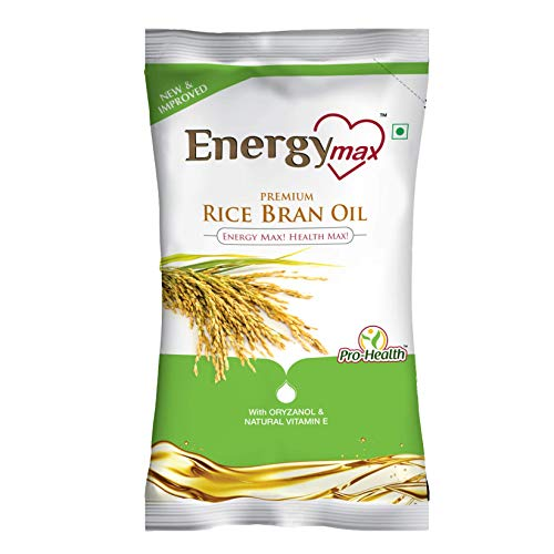 Energy Max Physically Refined Rice Bran Oil 1Ltr