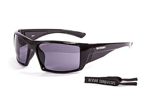 OCEAN SUNGLASSES - Aruba - lunettes de soleil polarisÃBlackrolles  - Monture : Noir LaquÃBlackroll - Verres : FumÃBlackrolle (3200.1)
