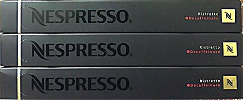 Nespresso capsule - 30 ristretto decaffeinato capsule