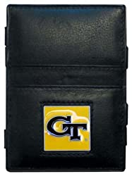 NCAA Georgia Tech Yellowjackets Leather Jacob's Ladder Wallet