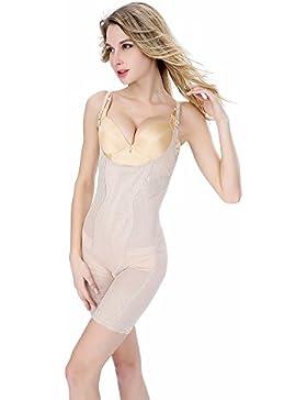 TQP-CK Donna Body Contenitivo Modellante e Levigante Senza Reggiseno