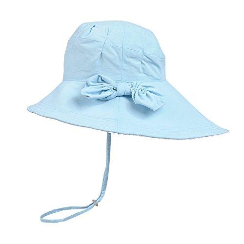 Missley - Capeline - Femme Multicolore bleu Taille Unique bleu clair