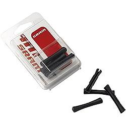 SRAM 103304 Goma protectora cuadro, para funda negra, 4 unidades, Multicolor, M