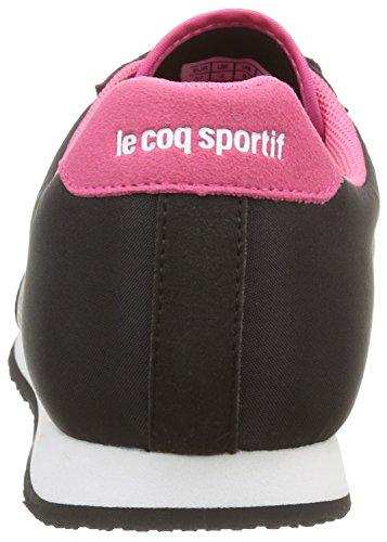 Le Coq Sportif Racerone W, Scarpe da Ginnastica Basse Donna Nero (Black/Honeysuckle)
