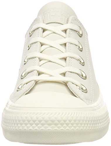 Converse Unisex-Erwachsene CTAS Ox Sneaker Mehrfarbig (egret/egret/Driftwood)