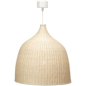 Ikea Leran Suspension Rotin 60 Cm Amazon Fr Cuisine Maison