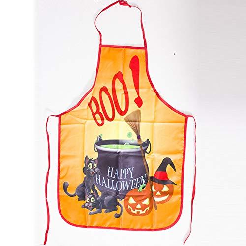 Jiobapiongxin Halloween-Schürze Halloween-Party Schürze Halloween-Dekorationen Großhandel