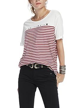 Scotch & Soda Maison French Inspired Short Sleeve Tee, Camiseta para Mujer