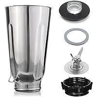 Blendin 5 Copa Conjunto jarra de acero inoxidable de repuesto, para Oster y Osterizer batidoras