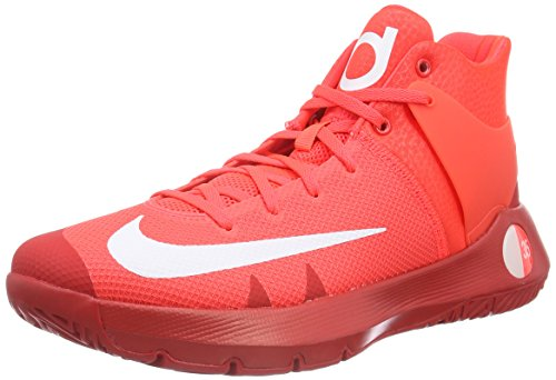 Nike Herren KD Trey 5 IV Basketballschuhe, Rot (Bright Criimson/White-University Red-M), 41 EU