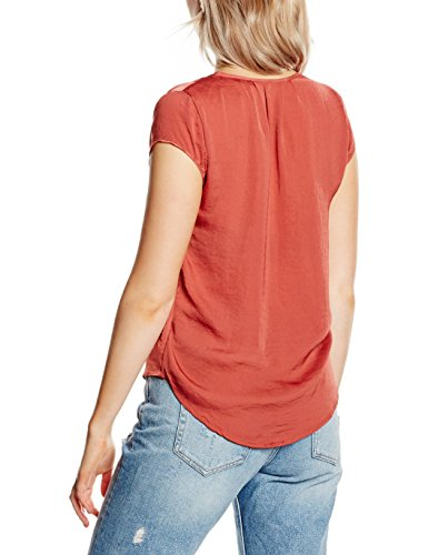 Hailys Damen T-Shirt SL P TP Gina Rot (henna 43101)